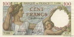 100 Francs SULLY FRANCE  1939 F.26.07 SPL+