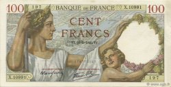 100 Francs SULLY FRANCE  1940 F.26.29 SUP