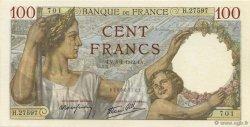 100 Francs SULLY FRANCE  1942 F.26.64 NEUF