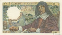 100 Francs DESCARTES FRANCE  1944 F.27.05 NEUF