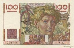 100 Francs JEUNE PAYSAN FRANCE  1946 F.28.03 NEUF