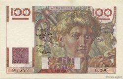 100 Francs JEUNE PAYSAN FRANCE  1947 F.28.14 NEUF