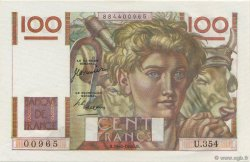 100 Francs JEUNE PAYSAN FRANCE  1950 F.28.25 NEUF