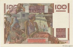 100 Francs JEUNE PAYSAN filigrane inversé FRANCE  1953 F.28bis.02 SPL