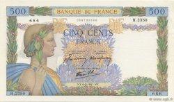 500 Francs LA PAIX FRANCE  1941 F.32.14 SPL