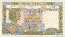 500 Francs LA PAIX FRANCE  1942 F.32.29 pr.NEUF