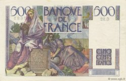 500 Francs CHATEAUBRIAND FRANCE  1946 F.34.06 SPL+