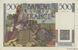 500 Francs CHATEAUBRIAND FRANCE  1952 F.34.09 SPL+