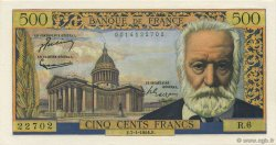 500 Francs VICTOR HUGO FRANCE  1954 F.35.01 NEUF
