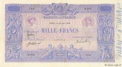 1000 Francs BLEU ET ROSE FRANCE  1914 F.36.28 pr.SUP