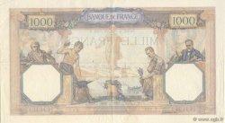 1000 Francs CÉRÈS ET MERCURE FRANCE  1928 F.37.02 TTB+ à SUP