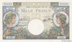 1000 Francs COMMERCE ET INDUSTRIE FRANCE  1940 F.39.02 pr.NEUF
