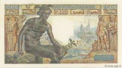 1000 Francs DÉESSE DÉMÉTER FRANCE  1942 F.40.06 SPL