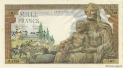 1000 Francs DÉESSE DÉMÉTER FRANCE  1943 F.40.20 pr.NEUF