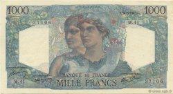 1000 Francs MINERVE ET HERCULE FRANCE  1945 F.41.04 NEUF