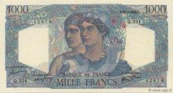 1000 Francs MINERVE ET HERCULE FRANCE  1946 F.41.16 SPL