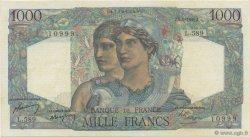 1000 Francs MINERVE ET HERCULE FRANCE  1949 F.41.28 SUP