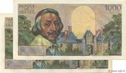 1000 Francs RICHELIEU FRANCE  1956 F.42.23 SUP+