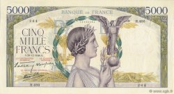 5000 Francs VICTOIRE Impression à plat FRANCE  1940 F.46.18 SUP+