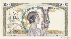 5000 Francs VICTOIRE Impression à plat FRANCE  1942 F.46.40 pr.SPL