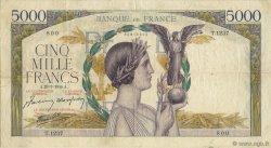 5000 Francs VICTOIRE Impression à plat FRANCE  1944 F.46.50 TTB