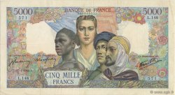 5000 Francs EMPIRE FRANCAIS FRANCE  1944 F.47.07 TTB