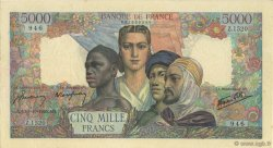 5000 Francs EMPIRE FRANÇAIS FRANCE  1945 F.47.47 TTB