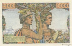 5000 Francs TERRE ET MER FRANCE  1953 F.48.09 NEUF