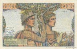 5000 Francs TERRE ET MER FRANCE  1956 F.48.11 SPL+
