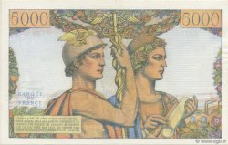 5000 Francs TERRE ET MER FRANCE  1957 F.48.16 pr.NEUF