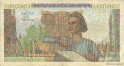 10000 Francs GÉNIE FRANÇAIS FRANCE  1951 F.50.52 pr.TTB