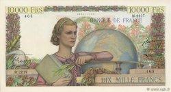 10000 Francs GÉNIE FRANÇAIS FRANCE  1951 F.50.55 SUP+