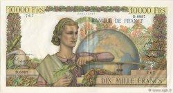 10000 Francs GÉNIE FRANÇAIS FRANCE  1955 F.50.74 SUP+