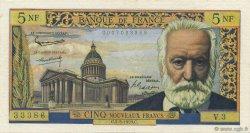 5 Nouveaux Francs VICTOR HUGO FRANCE  1959 F.56.01 pr.SUP