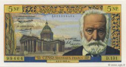 5 Nouveaux Francs VICTOR HUGO FRANCE  1965 F.56.17 NEUF