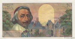 10 Nouveaux Francs RICHELIEU FRANCE  1960 F.57.06 SUP à SPL