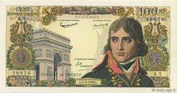 100 Nouveaux Francs BONAPARTE FRANCE  1959 F.59.01 SUP+ à SPL