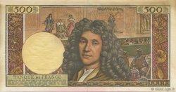 500 Nouveaux Francs MOLIÈRE FRANCE  1959 F.60.00s1 SPL