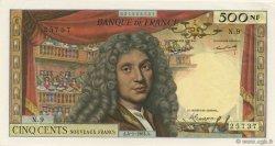 500 Nouveaux Francs MOLIÈRE FRANCE  1963 F.60.04 SPL