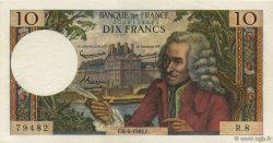 10 Francs VOLTAIRE FRANCE  1963 F.62.02 SUP