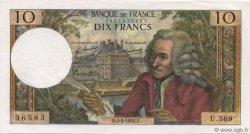 10 Francs VOLTAIRE FRANCE  1970 F.62.43 SPL+