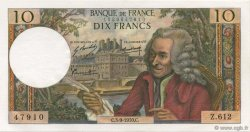 10 Francs VOLTAIRE FRANCE  1970 F.62.46 pr.NEUF