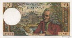 10 Francs VOLTAIRE FRANCE  1971 F.62.48 pr.NEUF