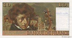 10 Francs BERLIOZ FRANCE  1972 F.63.01 SUP+