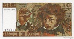10 Francs BERLIOZ FRANCE  1972 F.63.01