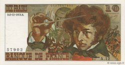 10 Francs BERLIOZ FRANCE  1973 F.63.02 SPL