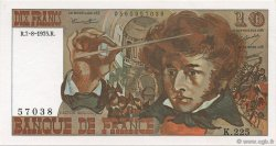 10 Francs BERLIOZ FRANCE  1975 F.63.12 SPL+