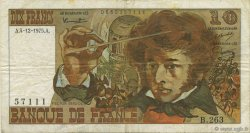 10 Francs BERLIOZ FRANCE  1975 F.63.15 pr.TTB