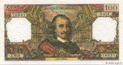 100 Francs CORNEILLE FRANCE  1972 F.65.38 pr.NEUF