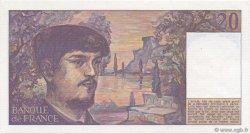 20 Francs DEBUSSY FRANCE  1982 F.66.03 SPL+